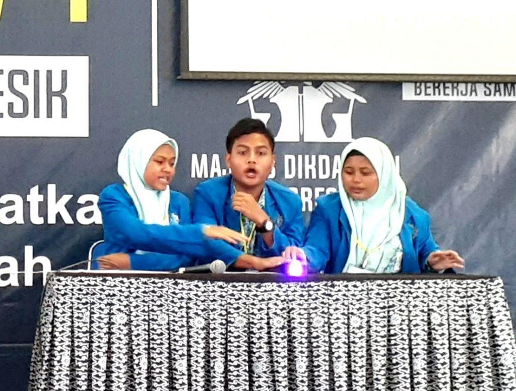 Kalah menang yang penting heboh. Itulah moto Muhammad Ferdyansyah, siswa kelas XI IS SMA Muhammadiyah 4 Sidayu, yang mengikuti Lomba Cerdas Cermat Ismuba FFU #4 Tahun 2020.