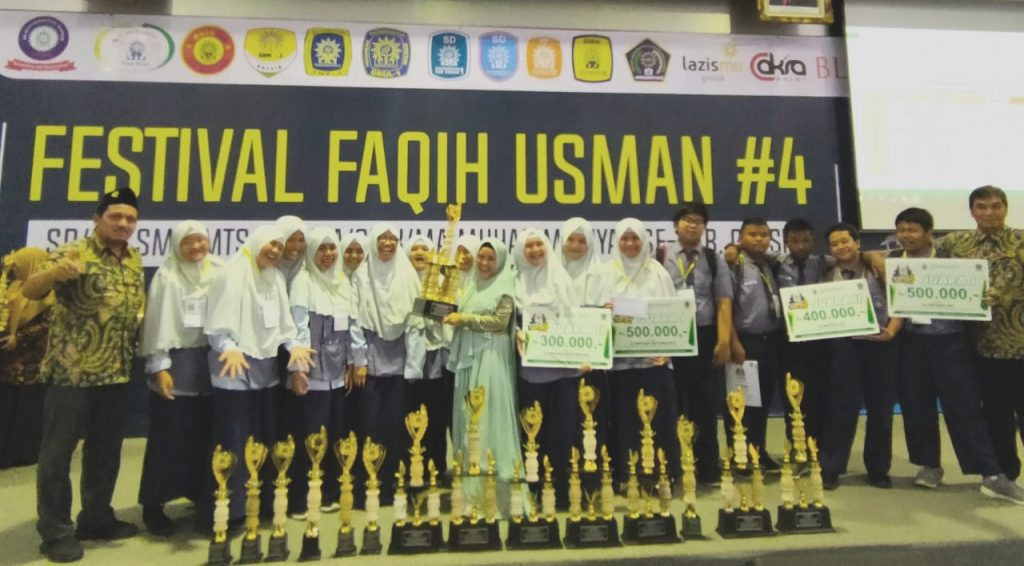 Spemdalas juara umum lagi dalam Festival Faqih Usman (FFU) #4 yang dilaksanakan di Universitas Muhammadiyah Gresik (UMG), Sabtu (7/3/20).