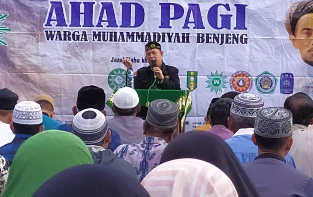 Setiap Muslim harus punya empat 'I'. Yaitu iman, ikhlas, ihsan, dan istiqamah. Demikian disampaikan Ustadz Muhamamd Hatta.