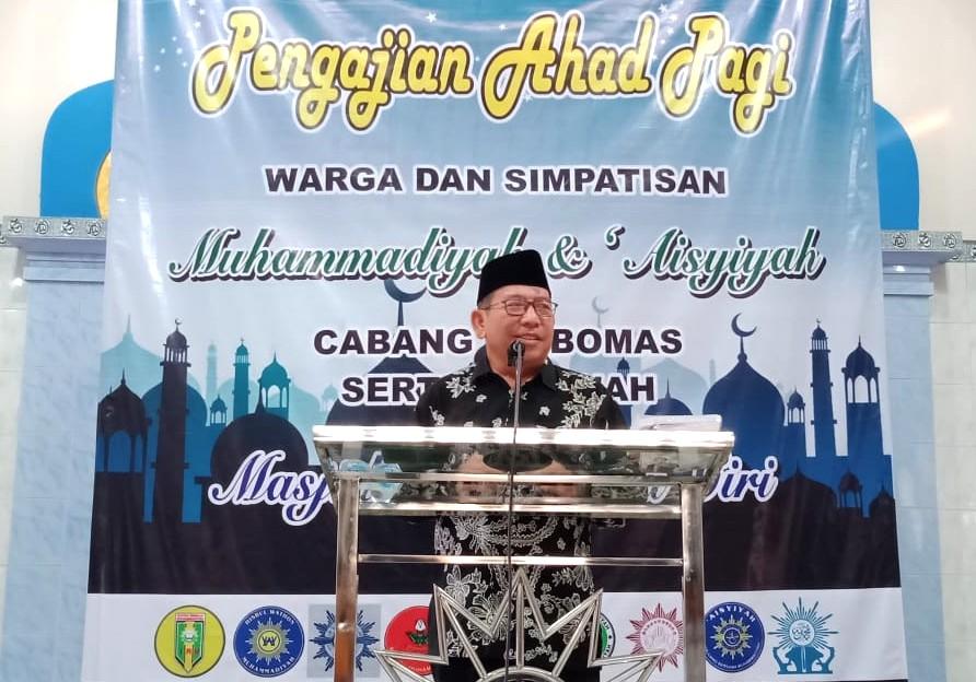 Surga Rindukan Empat Golongan Ini. Demikian tema ceramah Ketua PDM Kabupaten Lumajang H. Suharyo AP SH dalam Pengajian Ahad Pagi (15/3/2020).