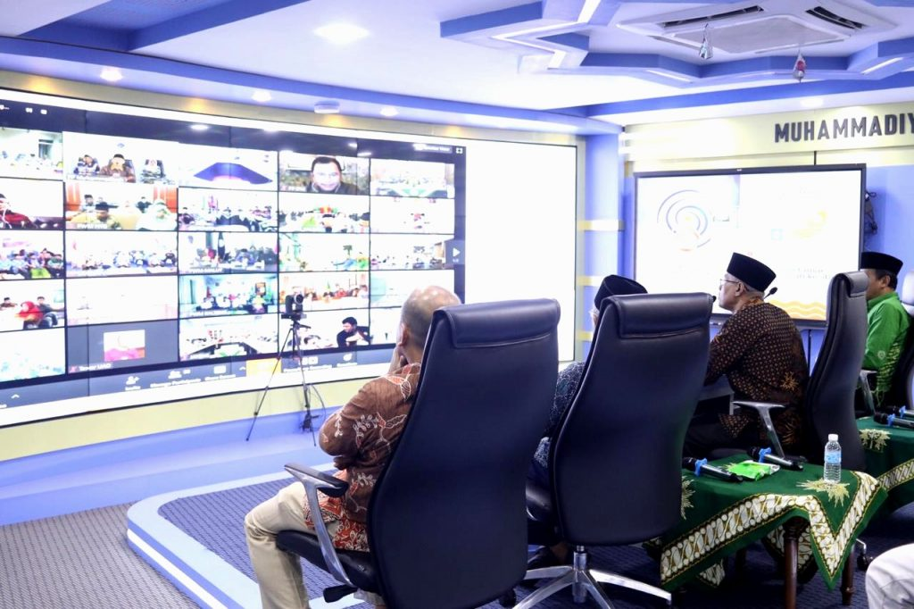 Cerita di balik terobosan rapat pleno telekonferensi Pimpinan Pusat (PP) Muhammadiyah dengan PWM dan PWA se-Indonesia disampaikan Dr Abdul Mu'ti MEd.