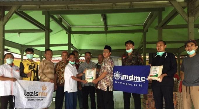 PDM Kediri launching Satgas Covid-19 untuk mencegah penyebaran Virus Corona di Gedung Dakwah Muhammadiyah Jalan Seruji 5 Gurah, Kediri, Sabtu (28/3/2020).