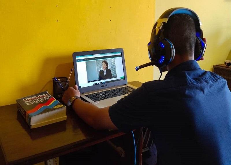 Pusba UMSurabaya mengadakan Eco-Line di tengah wabah virus corona saat proses pembelajaran tatap muka mahasiswa dihentikan, mulai Maret-Agustus 2020.