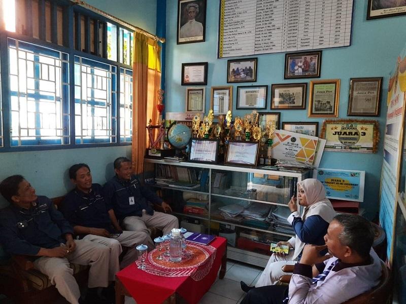 Sekolah mitra GKB, SD Muwri didampingi Mugebs school. Kunjungan dilakukan SE Majelis Dikdasmen PCM GKB dan 4 wakil kepala sekolah, Rabu (3/3/20).