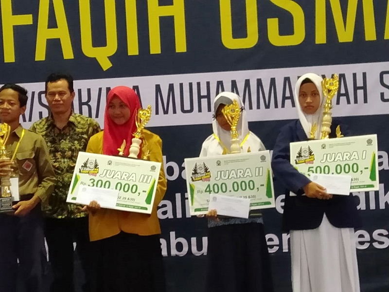 Kisah siswa Matsmunam Banyutengah Panceng Gresik menorehkan prestasi tahfidh untuk kategori 2 juz (29-30) ajang FFU #4 di UMG, Sabtu (7/3/20).
