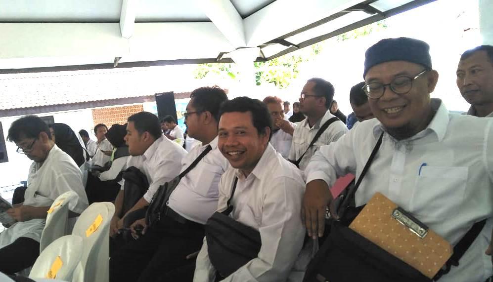KPU Kabupaten Kediri jaring calon PPS melalui tes tulis. Itu dilakukan untuk menyongsong pemilihan Calon Bupati/Wakil Bupati Kabupaten Kediri, September mendatang.