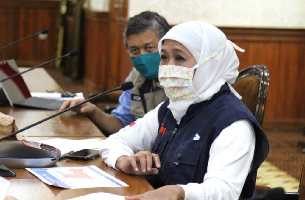 Tambah 34, pasien positif Covid-19 di Jatim Penambahan 34 orang itu terjadi pada Rabu (22/4/2020). Demikian dikatakan Gubernur Jatim Khofifah Indar Parawansa.