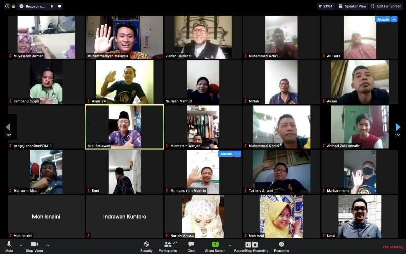 Lawan Covid-19 menjadi bahasan Kajian Online PCIM Malaysia