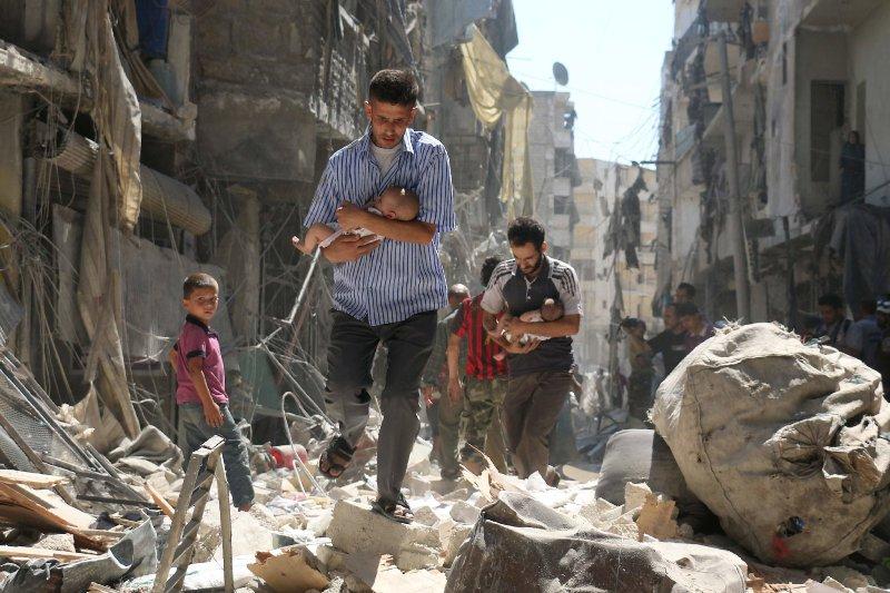 Kisah sahabat Nabi banyak tertulis di Negeri Syam. Kini Suriah hancur dilanda wabah perang.