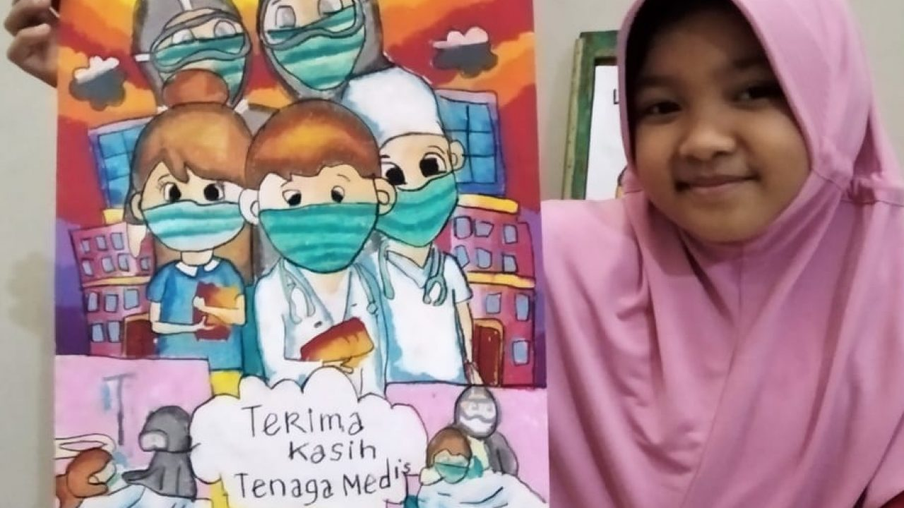 Contoh Poster Untuk Anak Sd Kelas 6 / Tugas Poster Pahami ...