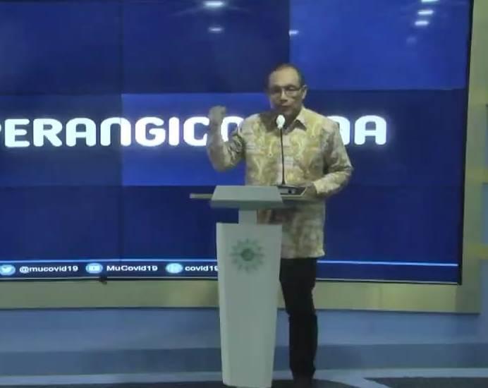 Ketua MCCC Agus Samsudin menyatakan, Muhammadiyah menolak berdamai dengan Covid-19. (foto mccc)