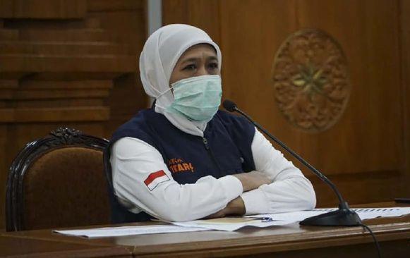 Gubernur Jatim Khofifah Indar Parawansa. (foto dokumentasi pwmu.co)