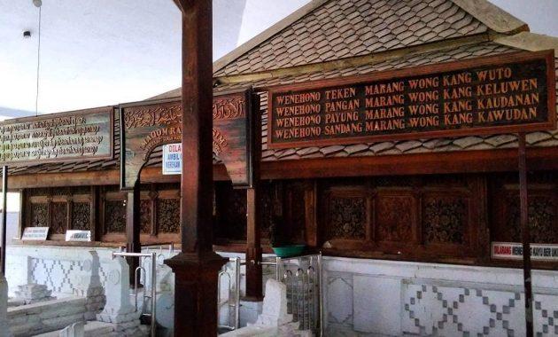Makam Sunan Drajat dan pesan sosialnya. (foto jejakpiknik)