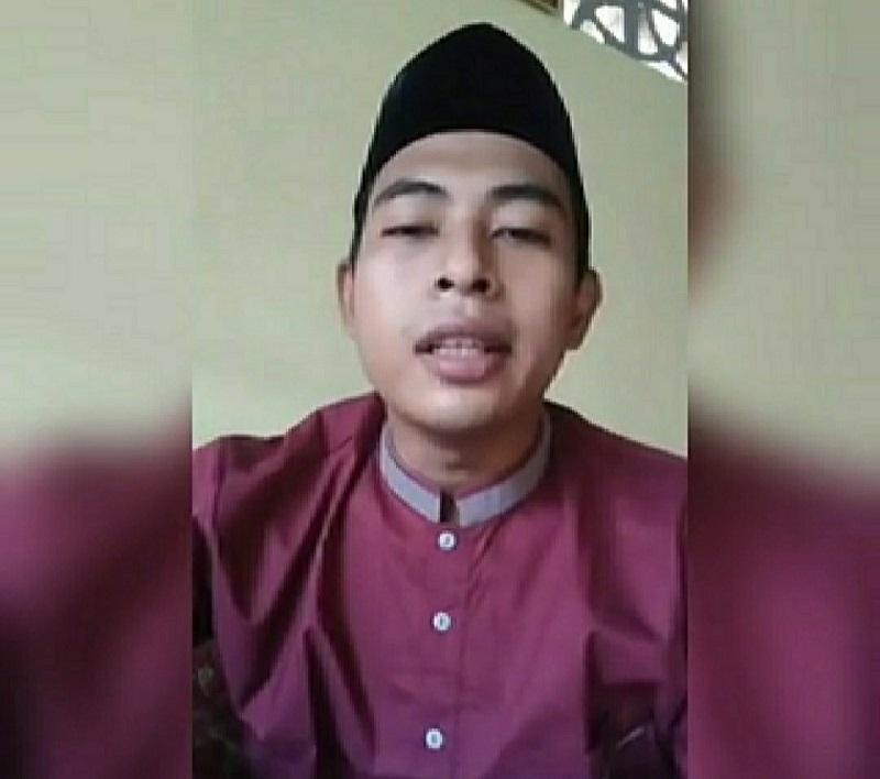 Kisah Nabi Ayyub AS disampaikan Hamdan Akhsani SPd dalam kegiatan Pondok Ramadhan di Mindaka, Rabu (20/5/20).