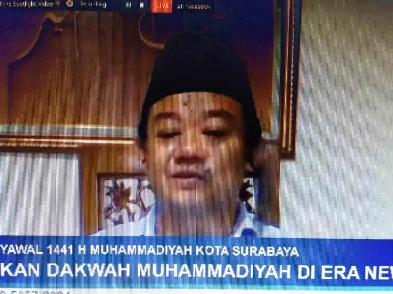 Abdul Mu'ti. Ada empat ujian Covid untuk Muhammadiyah.