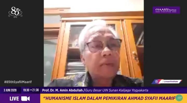 Buya Syafi'i ubah mission impossible jadi possible diungkap oleh Guru Besar Universitas Islam Negeri (UIN) Sunan Kalijaga Yogyakarta Prof Dr M Amin Abdullah.