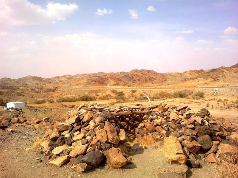 Kisah Halimah as Sa'diyah tersimpan dalam reruntuhan Desa As Saidiyyah ini.