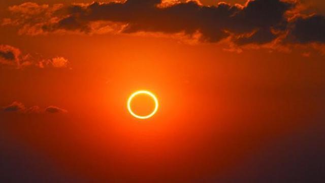 Gerhana matahari cincin akan terjadi besok Ahad, 21 Juni 2020 mulai pukul 14.03.