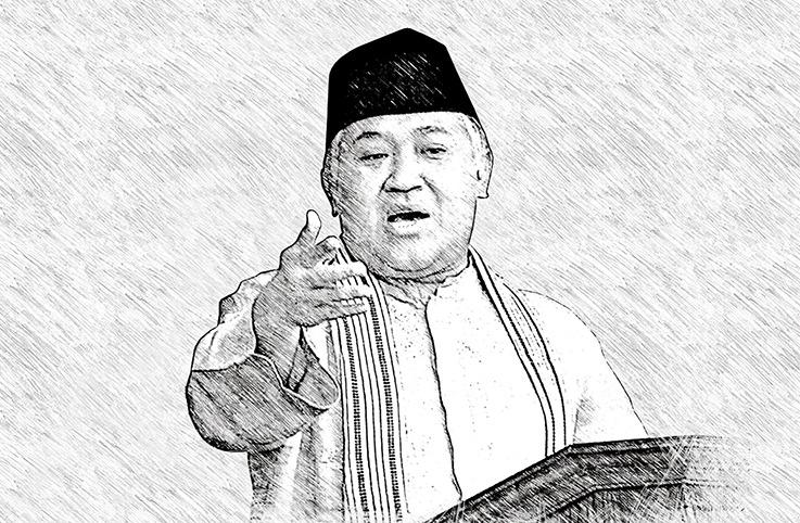 Din Syamsuddin desak Jokowi hentikan pembahasan RUU HIP. Menurutnya, Rancangan Undang-Undang tentang Haluan Ideologi Pancasila (RUU HIP) akan menurunkan derajat Pancasila.