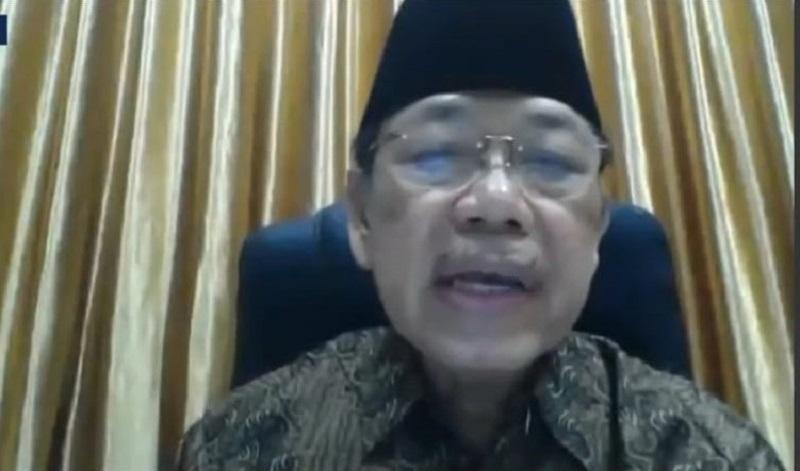 Muhammadiyah sambut akreditasi era digital disampaikan Prof Dr H Baedhowi dalam Webinar Majelis Dikdasmen PP Muhammadiyah #6, Ahad (21/6/20).