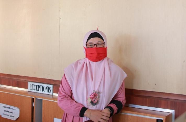 okter Fitria Putri, kepala Klinik Suherman UMJember. (Disa/PWMU.CO)