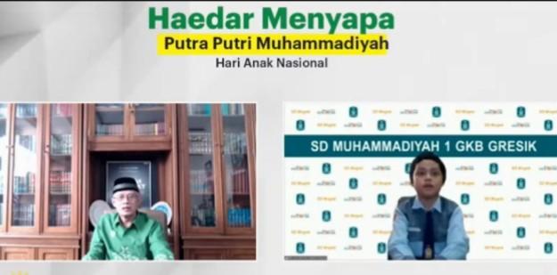 Haedar Nashir jangan ada kekerasan pada anak. Hal itu terungkap saat saat Ketua Umum PP Muhammadiyah ini menyapa anak Indonesia pada Hari Anak Nasional.