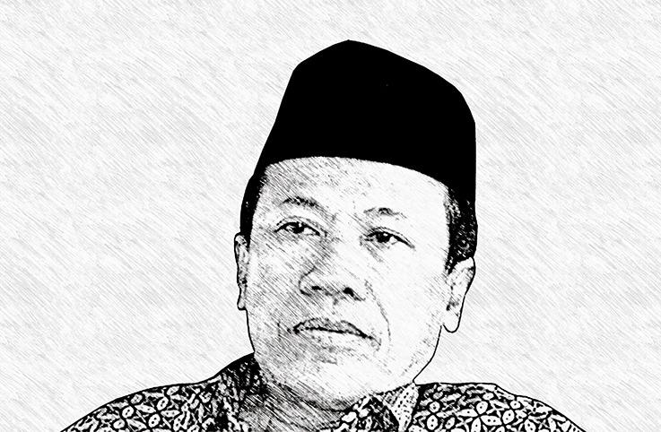 Tasawuf Sosial antara Dua Ekstrem ditulis oleh Syafiq A. Mughni, Ketua Pimpinan Pusat Muhammadiyah; Guru Besar UIN Sunan Ampel Surabaya.