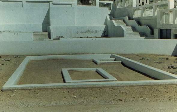 Makam Khadijah dan anaknya, al-Qasim di Ma;la Mekkah.