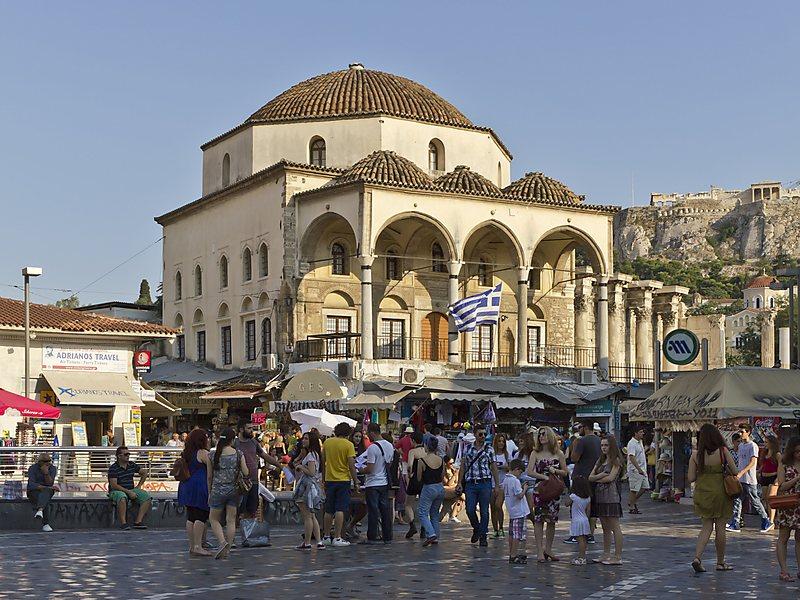 Masjid Tzisdaraki di Athena yang berubah fungsi. Dunia Barat diam saja.
