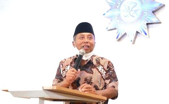 Pandemi belum usai, ada yang minta cul-culan disampaikan oleh Ketua Pimpinan Pusat (PP) Muhammadiyah dr Agus Taufiqurrohman SpS MKes.