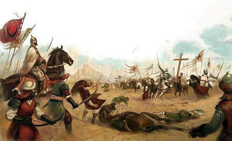 Ilustrasi perang Mu'tah.