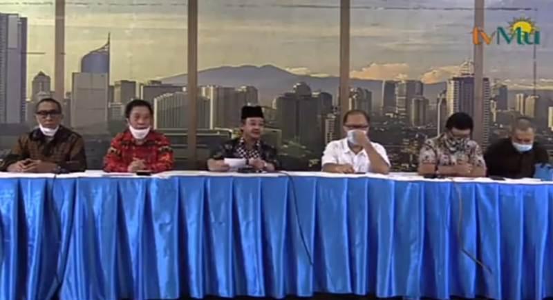Tujuh Ormas keagamaan membuat pernyataan sikap tentang RUU HIP.