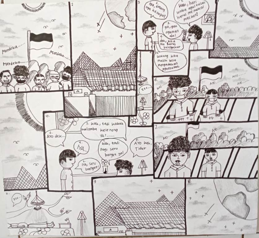 Cerdas cermat SMP Miosi via Quizizz. Lomba untuk memperingati Hari Kemerdekaan Republik Indonesia ke-75 itu berlangsung empat hari, Rabu-Sabtu (12-15/8/20).