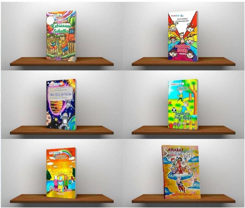 Berlian School merilis 6 buku karya siswa dengan tema Terus Tumbuh dan Berkarya di Masa Pandemi, Sabtu (22/8/20) saat Tahun Baru Islam.