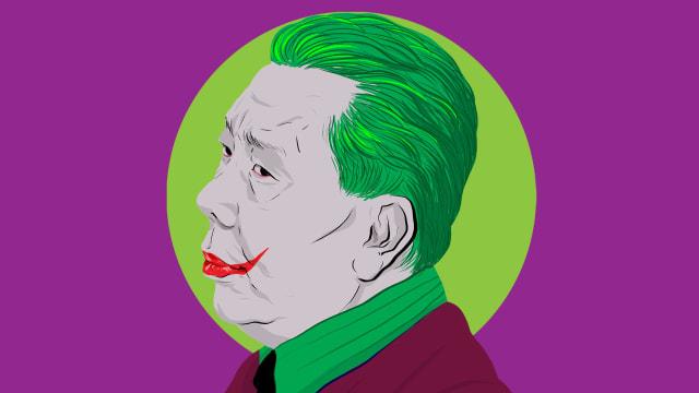 Djoko Tjandra alias si Joker. (kumparan)