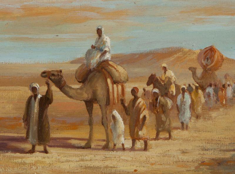 Ilustrasi hijrah ke Habasyah.