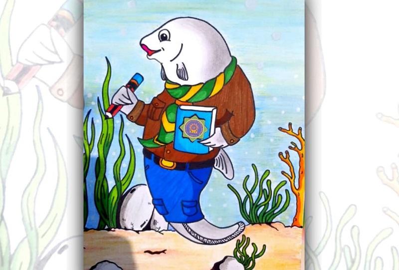 Ikan Papar menjadi pemenang lomba maskot SD Muhammadiyah 1 Wringinanom (Muwri) Gresik. Tiga pemenang lomba ini akan mendapat tropi penghargaan dari sekolah.