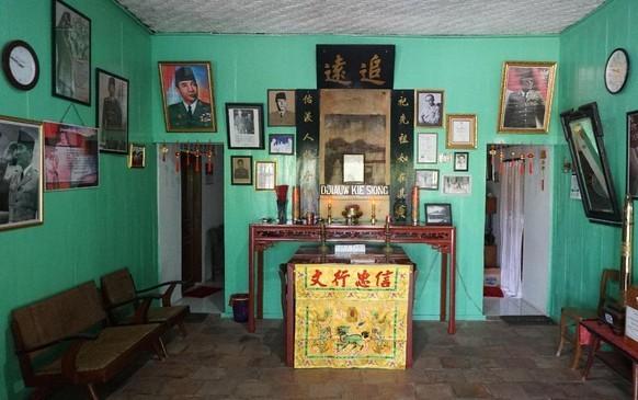 Rumah Djiauw Kie Song di Rengasdengklok tempat sandera Bung Karno dan Bung Hatta.
