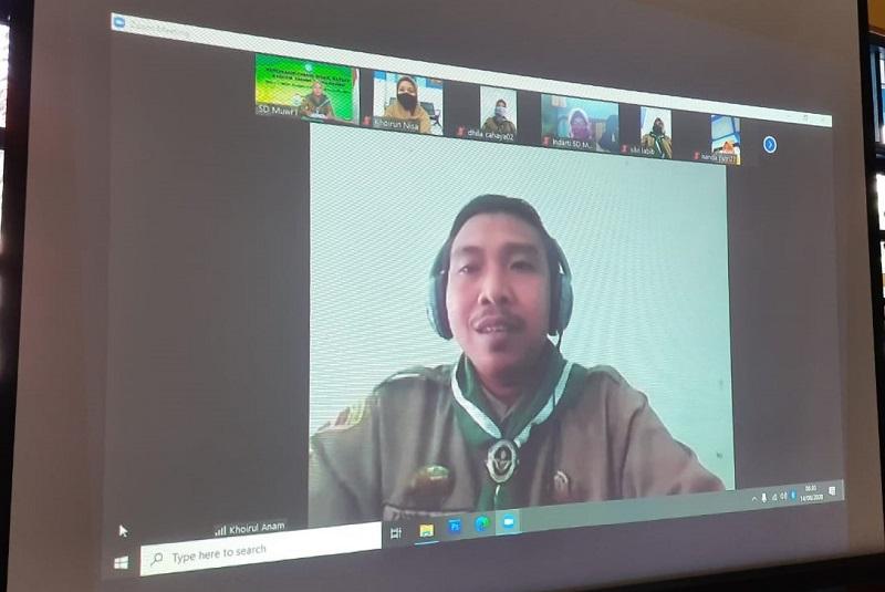 HW Wringinanom menggelar Musyawarah Cabang (Muscab) secara virtual yang dilaksanakan, Jumat (14/8/20).