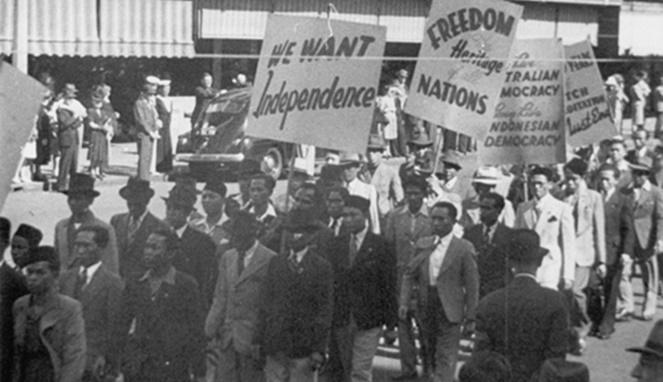 SIBAR dan NIGIS demonstrasi di Austalia.