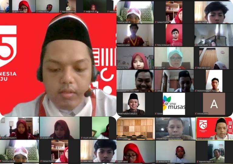 Dari vlog ke kuis, lomba 17-an di Musasi. Kegiatan secara virtual itu dihelat pada 20-23 Agustus 2020. Pemenangnya diumumkan Rabu (26/8/20).