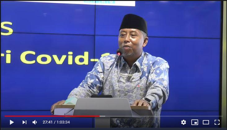 Mentari Covid-19 bentuk komitmen Muhammadiyah dalam jihad kemanusiaan. Yaitu ikhtiar mengatasi dan mencari jalan keluar dari pandemi Covid-19.