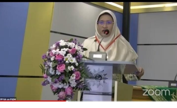 Ketua Umum Pimpinan Pusat Nasyiatul Aisyiyah (PPNA) Diyah Puspitarini MPd (Nely Izzatul/PWMU.CO)