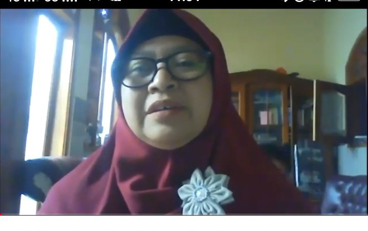 Mahasiswa PMM UMM adakan Webinar Pranikah karena miris melihat angka perceraian yang tinggi (Iis Muala Wati/PWMU.CO)