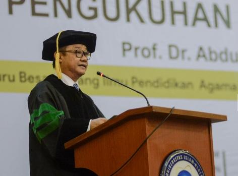 Membenturkan Muhammadiyah dengan NU adalah warisan dan cara kolonial, kata Abdul Mu'ti.