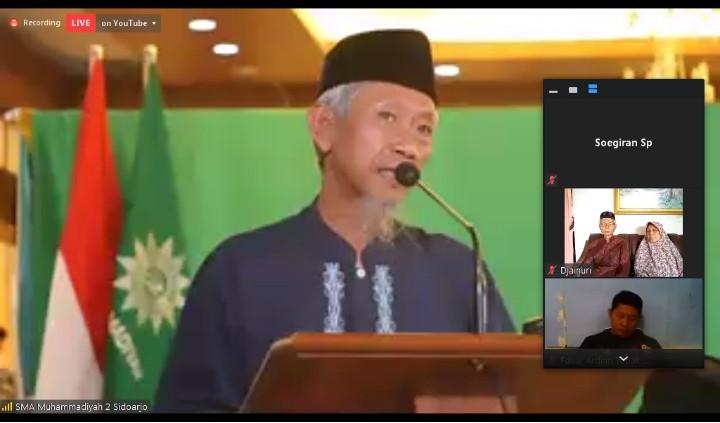 Nadjikh contohkan relasi ekonomi dan agama. Hal itu disampaikan oleh Ketua Pimpinan Wilayah Muhammadiyah (PWM) Jatim Dr M Saad Ibrahim MA.