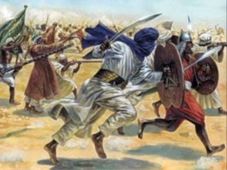 Tarung duel dalam Perang Badar.