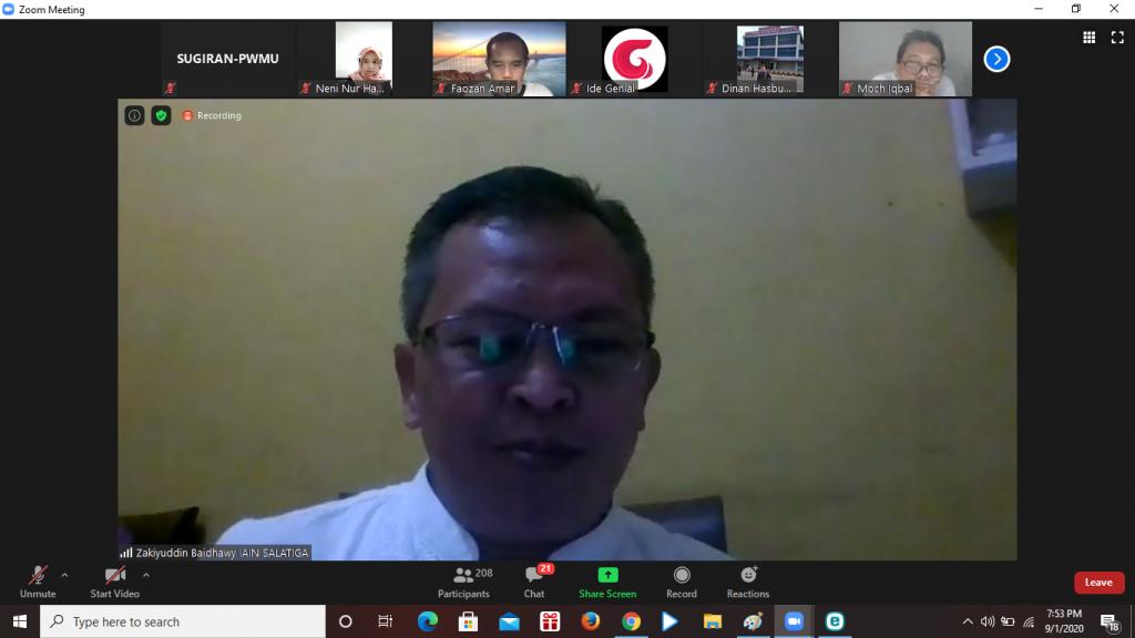 Zakiyuddin Baidhawy, Rektor IAIN Salatiga (Nely Izzatul/PWMU.CO)