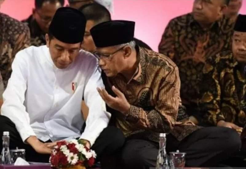 Bertemu Jokowi, Pimpinan Muhammadiyah usul tunda UU Cipta Kerja.