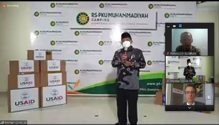 Muhammadiyah komitmen jihad kemanusiaan. Hal ini disampaikan oleh Ketua PP Muhammadiyah dr H Agus Taufiqurrohman SpS MKes